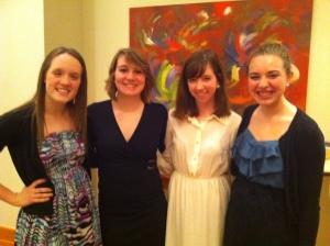 Erika, Katie, Mallory, and I